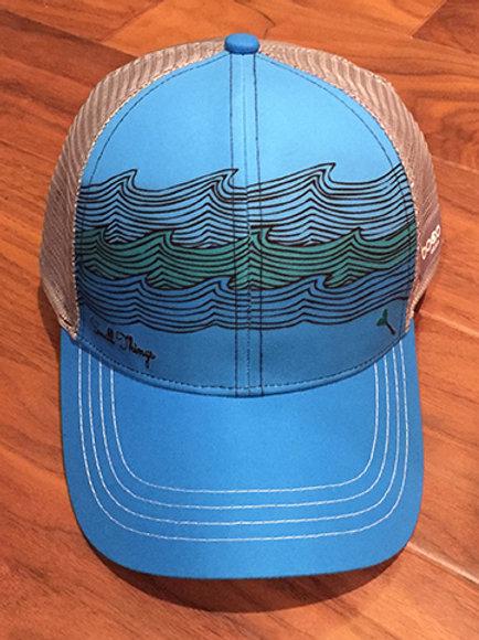 ocean waves trucker