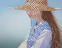 Девочка в соломенной шляпке