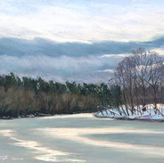 Вид на реку из Усадьбы Валуево