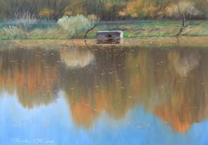 Четвертый пруд осень