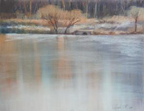 Четвертый пруд зима