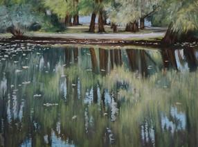 Осенний пруд. Усадьба Воронцово