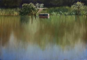 Четвертый пруд лето