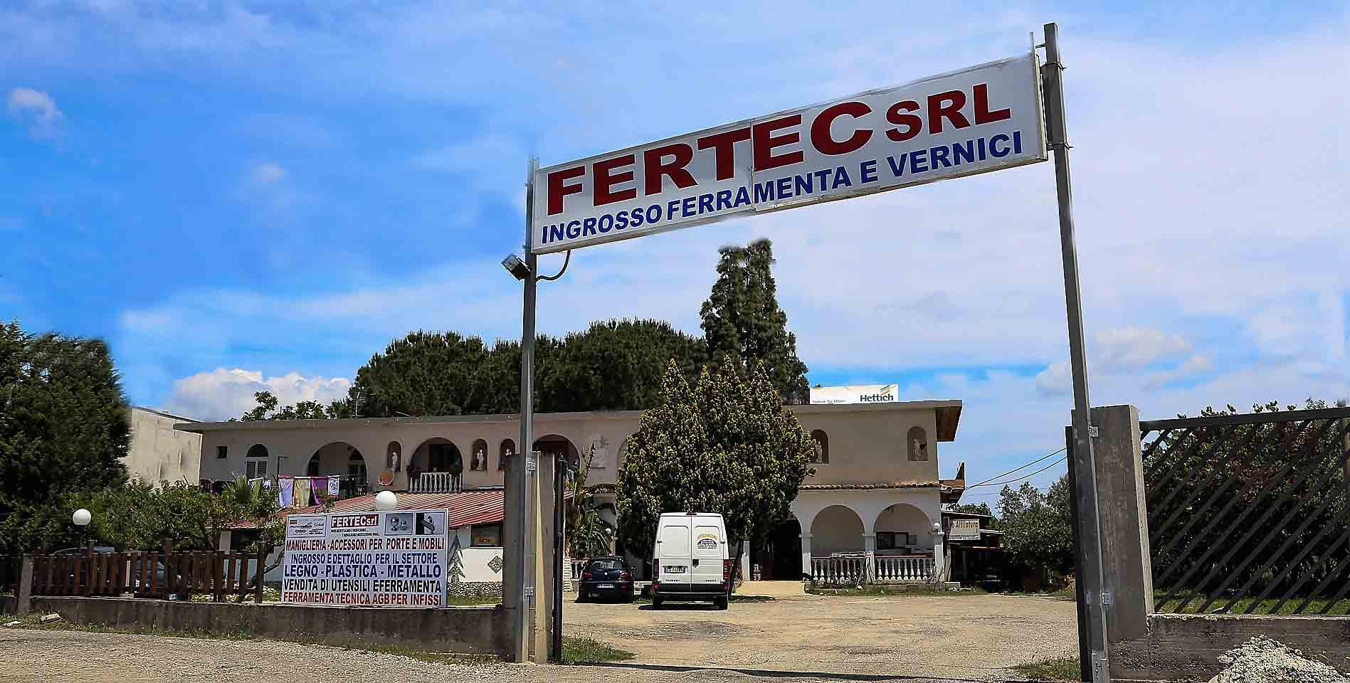 Ingresso Fertec Srl