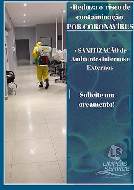 Sanitização de ambiente