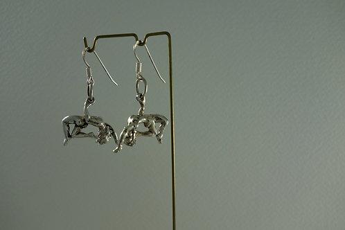 Boucles d'oreille - Acrobate
