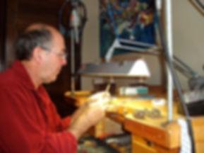 Artiste, atelier, Normand Bleau, bijou, art, artisan, joaillier, Estrie, Cantons-de-l'Est, Montérégie