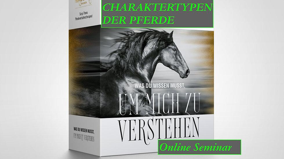 Online Kurs Charaktere der Pferde