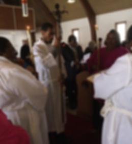 1- Gospel procession, acolytes.JPG