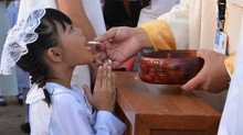 Receiving Spiritual Holy Communion