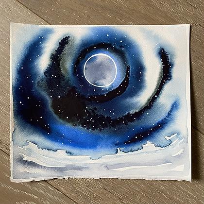 Solstice Moon II