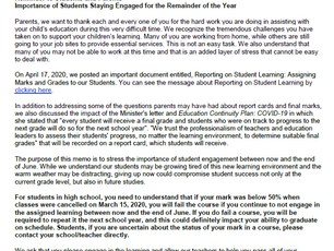 The Importance of Student Engagement