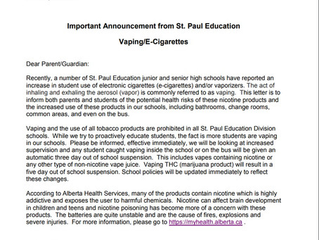 Vaping/E-Cigarettes