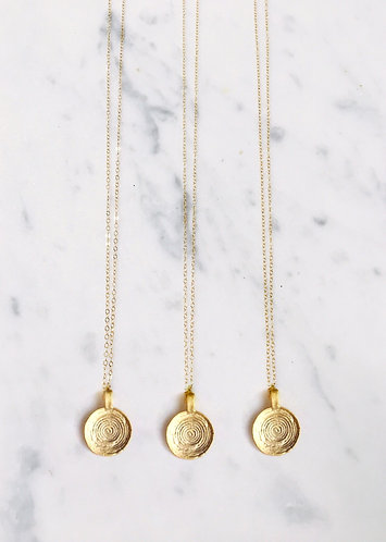 TWIST OF GOLD NECKLACE
