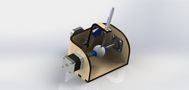 Laser Cut Sphere-o-bot | portfolio