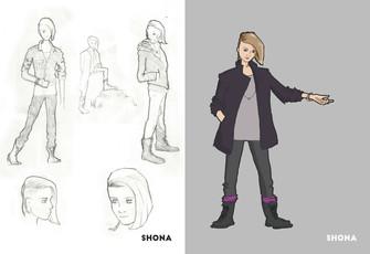 Concept Art: Shona