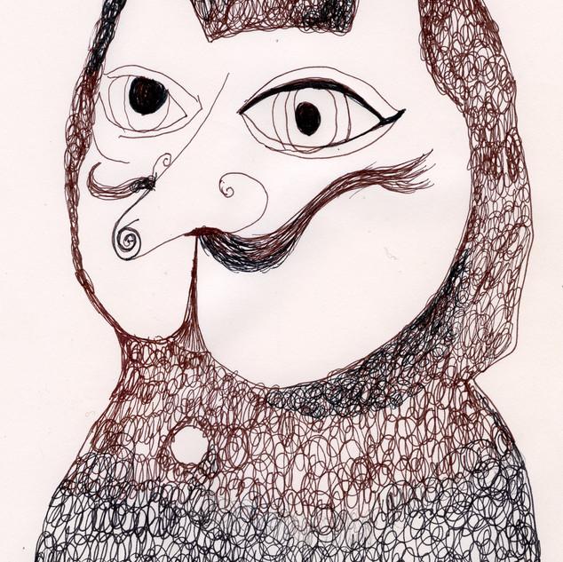Owlish Cat