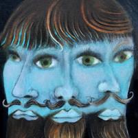 Three moods one blue