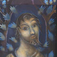 Santo Azul.