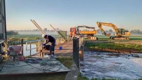 Aa en Maas plaatst waterraderen: geringe energieopbrengst, maar alle kleine beetjes helpen