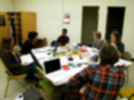 Bard Core - Shakespeare Workshop. Table work.