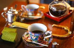 岩戸珈琲店-抹茶と賽風