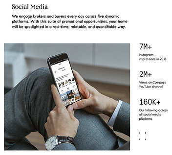 compass social media
