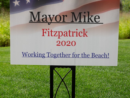Mike Announces Campaign for Colonial Beach Mayor