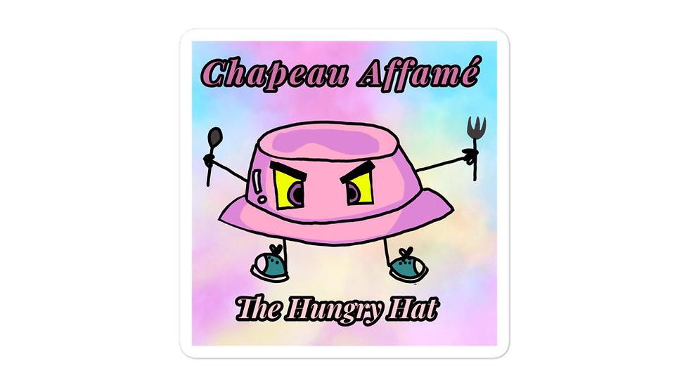 Chapeau Affamé Sticker