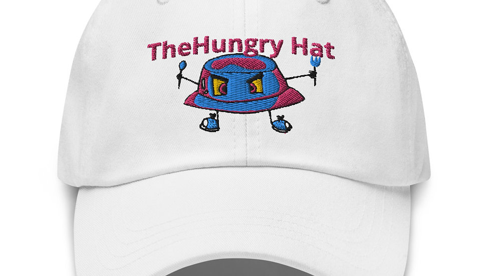 """The Hungry Hat Cotton Candy """"Dad hat"""""""