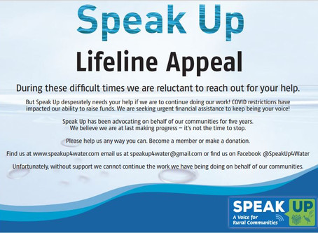 Speak Up needs help to continue its work