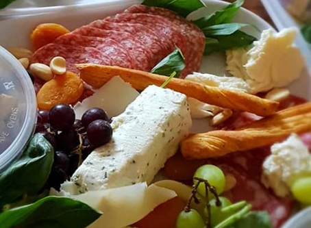 Gorgeous Anti Pasti platters are a real hit with our customers.....
