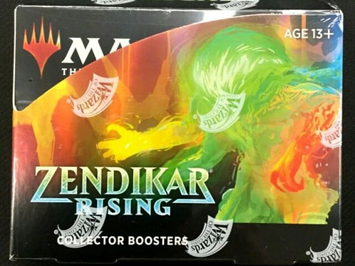 MTG Zendikar Rising Booster Collector Box