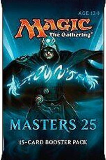 Masters 25 new sealed booster pack