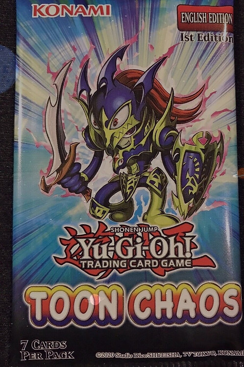1st Edition Toon Chaos NEW Booster Pack
