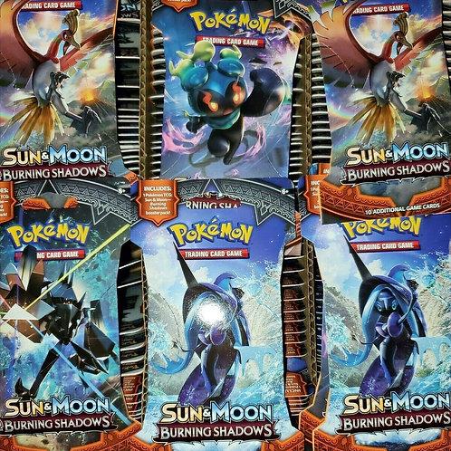 Pokemon TCG Burning Shadows Sun & Moon Sleeved Booster Pack