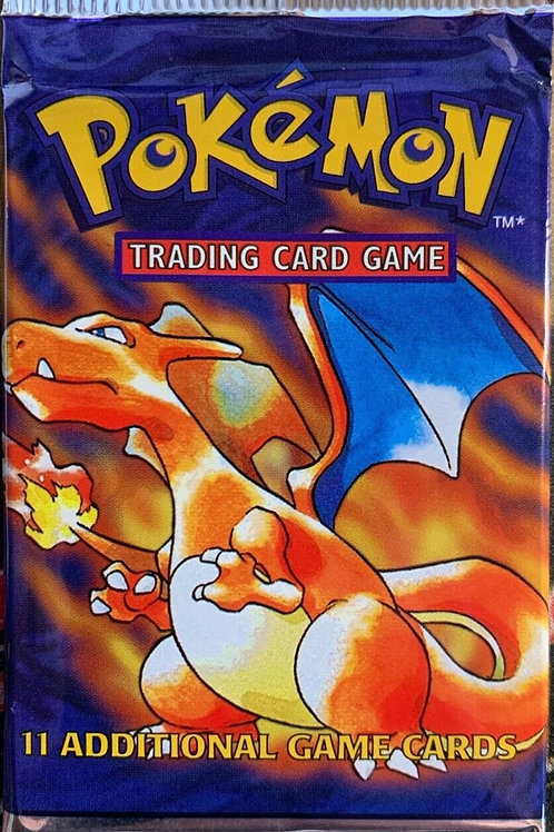 Base Set Booster Pack Factory Sealed Charizard art