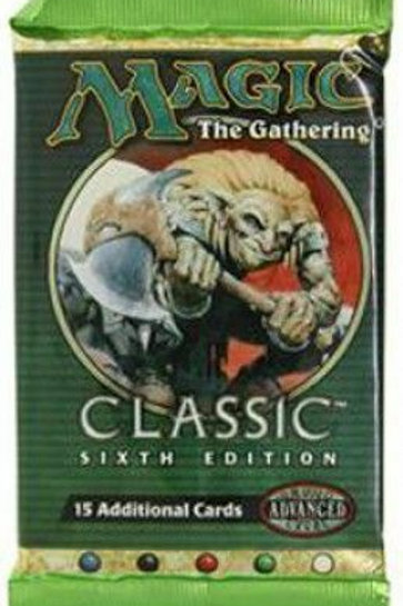 MTG Classic 6th Edition booster