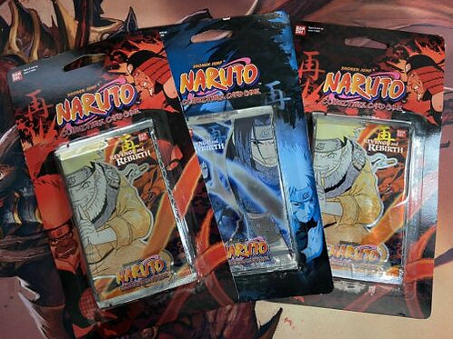 Naruto revenge and rebirth booster blister pack