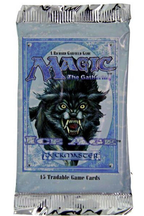 MTG New Ice Age Booster Pack