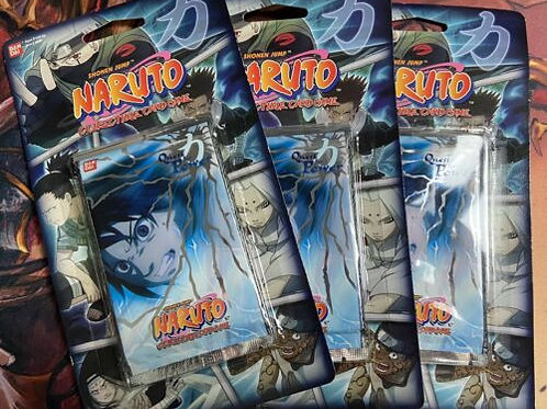 Naruto Quest of Power booster blister pack