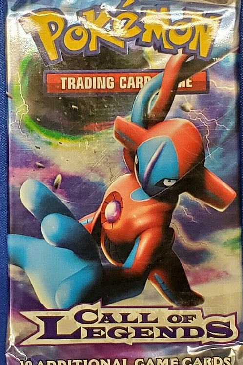 Pokemon Call Of Legends Booster Pack Sealed