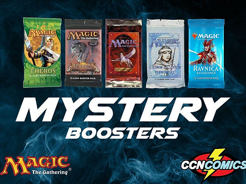Magic Random booster packs x1 plus 20 rares