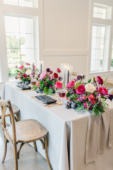 Venue: The Springs Rockwall Manor; Chairs/End Table: Chiavari Chair & Event Decor Rentals of Dallas