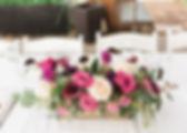 Dallas wedding forist centerpiece purple roses rustic elgant whimsical garden floral