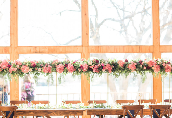 The Venue at Waterstone wedding floral celina