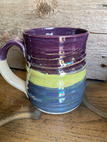 Iridescent Wave Mug