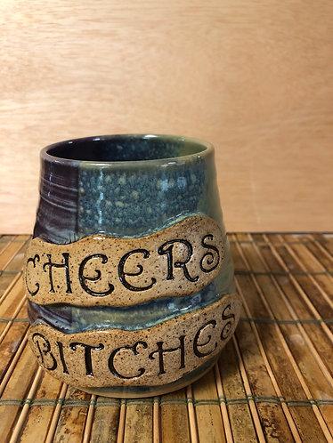 Wine Tumbler-Cheers Bitches