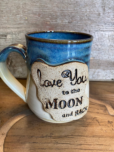 Love you too the Moon Mug