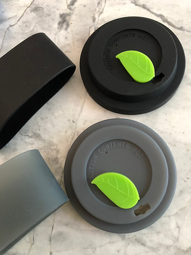 No Spill Leaf Lids with Sleeve Sets